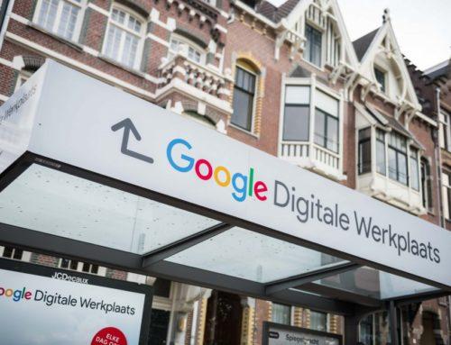 Pop-up Google op de Prinsengracht